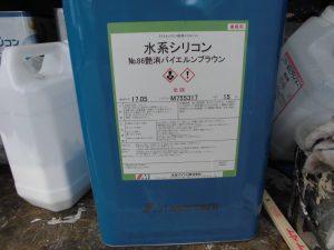 奈良県桜井市 水系シリコンをモニエル瓦(洋瓦)屋根塗装