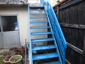 奈良県橿原市K様 外部階段塗装前