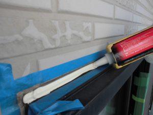 奈良県橿原市h様 外壁サイディング壁 シーリング充填2