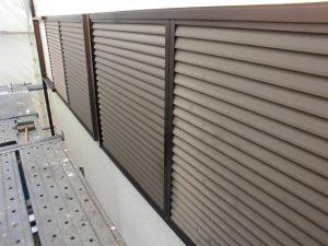 【外壁塗装,外壁修理】奈良県桜井市S様邸 雨戸・雨樋塗装