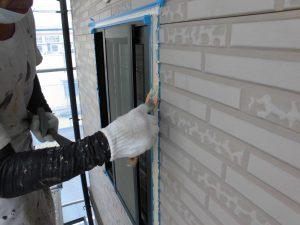 奈良県橿原市h様 外壁サイディング壁 シーリング押さえ