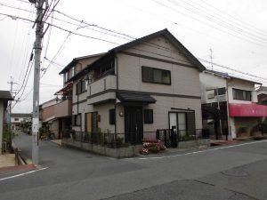 奈良県橿原市 サイディング壁塗装前