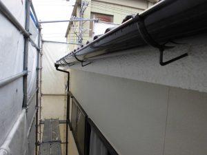 奈良県桜井市S様 雨樋塗装後2