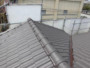 奈良県桜井市S様 屋根塗装 上塗り(3回目)塗装3