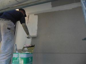 【外壁塗装・外壁修理】奈良県橿原市T様邸 外壁塗り替え工事の工程に入ります。