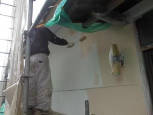【外壁塗装・外壁修理】奈良県橿原市T様邸 外壁塗り替え工事の続きです。