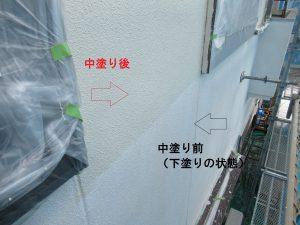 名張市 安くて耐用年数が長いシリコン塗料で外壁塗装