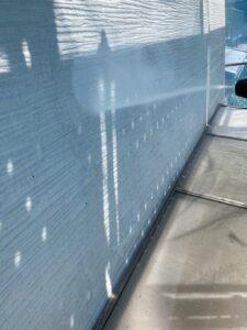 三重県名張市 外壁高圧洗浄2