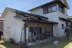 【奈良県高取町】外壁塗装 モルタル壁に20年持つ断熱セラミックガイナを外壁塗装