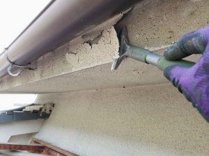 【奈良県高取町】外壁塗装|20年の耐久性の断熱セラミックガイナを外壁に塗り替えリフォーム