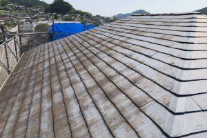 橿原市 20年持って遮熱と断熱効果のガイナを屋根塗装