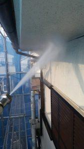 名張市 S様の外壁洗浄5