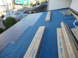 奈良県大和郡山市H様屋根カバー工法リフォーム