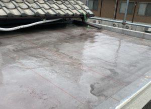 奈良県高取町U様ベランダ防水