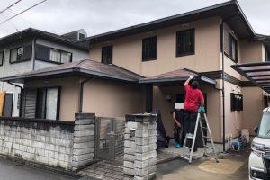 【三重県伊賀市】外壁塗装|サイディング壁に15年持つシリコン塗料で外壁塗り替えリフォーム
