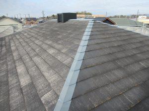 伊賀市 屋根の重ね張り工事前に雨漏り防止に防水シート