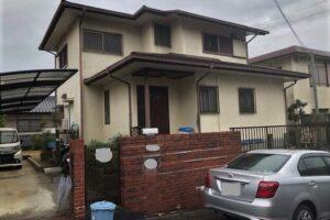 【三重県伊賀市】外壁塗装|耐用年数15年のシリコン塗料で塗り替えリフォーム
