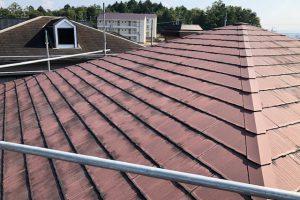 【三重県伊賀市】今のスレート屋根にガルバリウム鋼板を重ねるリフォーム