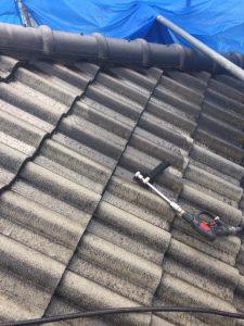 奈良県生駒市屋根塗り替えリフォーム工事