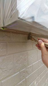 【奈良県橿原市】外壁塗装|安くて耐用年数16年のシリコン塗料でサイディング壁を塗り替え