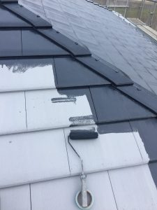 三重県名張市M様の屋根塗装リフォーム工事