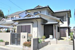 奈良県宇陀市 耐用年数20年のガイナで外壁塗装工事