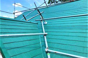 奈良県宇陀市 安くて長持ちするシリコン塗料で屋根塗装