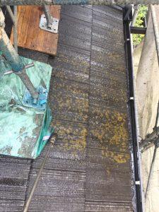 奈良市 失敗の多いモニエル屋根瓦の塗装リフォーム