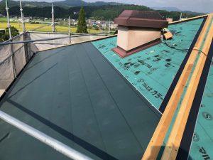 三重県伊賀市S様屋根重ね張りリフォーム工事