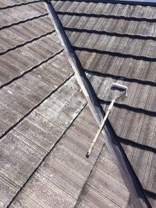 奈良市 モニエル屋根瓦塗装