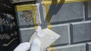 三重県名張市S様外壁修理リフォーム工事