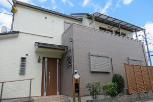 【奈良県橿原市】外壁塗装 安くて耐用年数16年のシリコン塗料で塗り替えリフォーム