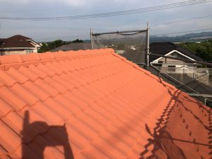 三重県名張市F様屋根塗装リフォーム工事