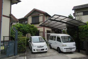 奈良市 外壁に長持ちするシリコン塗料で塗装リフォーム