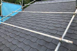 【三重県名張市】屋根塗装|20年耐久性の断熱セラミックガイナをスレート屋根に塗り替えリフォーム