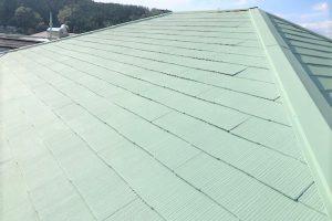 【三重県名張市】屋根塗装|テレビで注目!20年の耐久性の断熱セラミックガイナをスレート屋根に