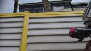 【三重県名張市】外壁塗装|雨戸塗装で長持ちさせるには錆止め塗装を入れる