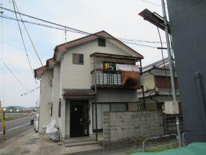 名張市 台風時にずれたスレート屋根を火災保険で修理