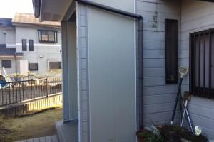 【外壁造作・外壁塗装】奈良県橿原市S様邸 玄関に外壁を造作して塗装で仕上げる工事