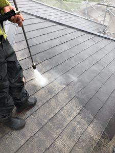 三重県名張市 失敗しない屋根の塗り替えは高圧洗浄が丁寧