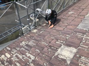 奈良県宇陀市K様屋根塗装リフォーム工事