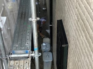 奈良県桜井市N様 外壁塗装洗浄3