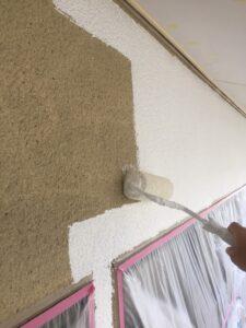 奈良県宇陀市 外壁塗装 下塗り2回目2