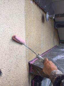奈良県宇陀市 外壁塗装 下塗り3