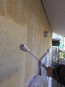 奈良県宇陀市 外壁塗装 下塗り1