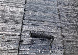 宇陀市 屋根瓦に耐用年数10年のシリコン塗料で塗装