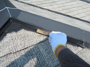 名張市 スレート屋根に安くて10年持つ塗料で屋根塗装