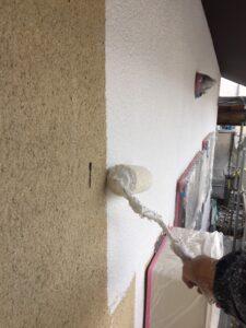 【三重県名張市】外壁塗装|『ひび割れに強い』塗料で和風のモルタル壁を塗り替え