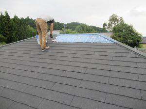 三重県名張市N様屋根塗り替えリフォーム工事