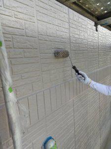 【三重県伊賀市】外壁塗装|かびや藻の汚れに強い低汚染性のシリコン塗料で外壁塗り替えリフォーム